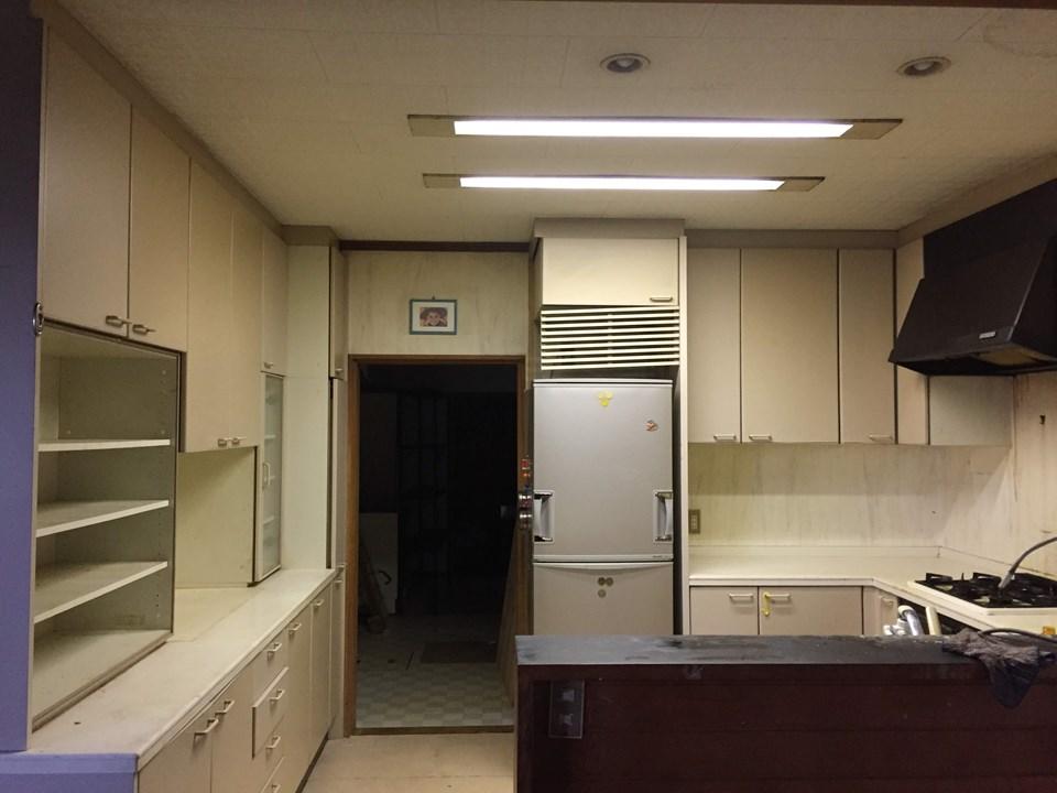 A様邸キッチン改修工事施工前