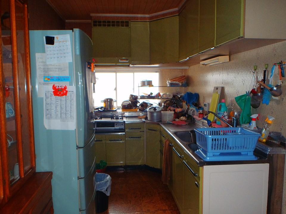 S様邸キッチン改修工事施工前