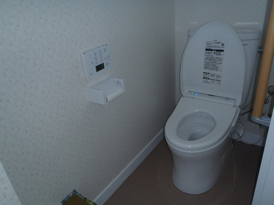 S様邸トイレ改修工事施工後