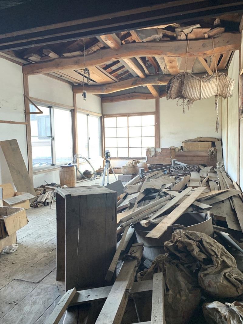 土蔵造りのお宅、改修工事 その一🛠