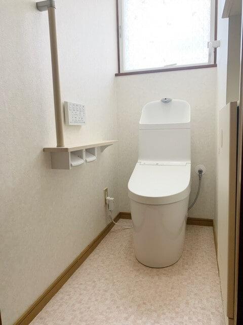 高齢者に優しいトイレ取替工事🛠