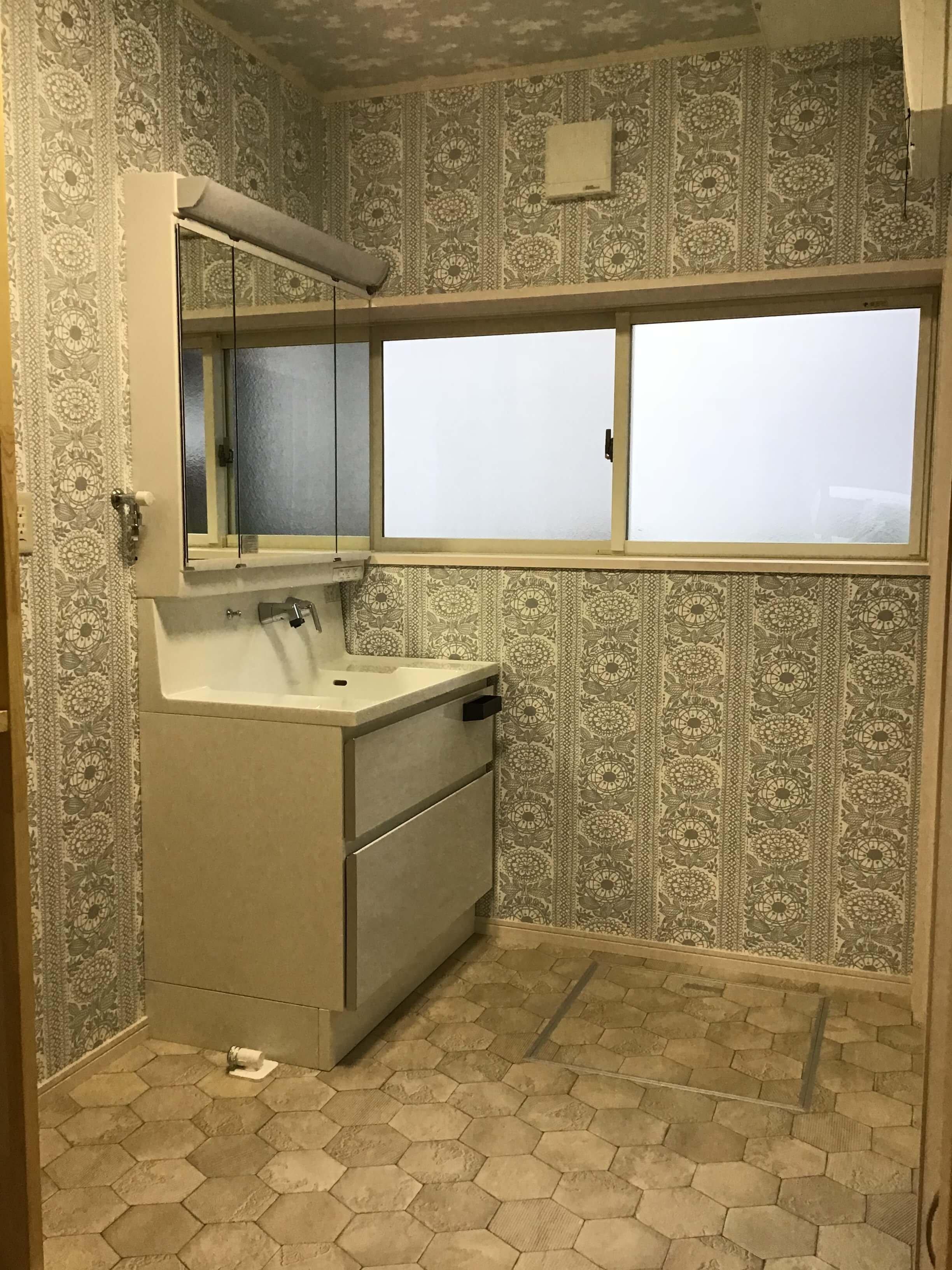 S様邸 洗面所改修工事