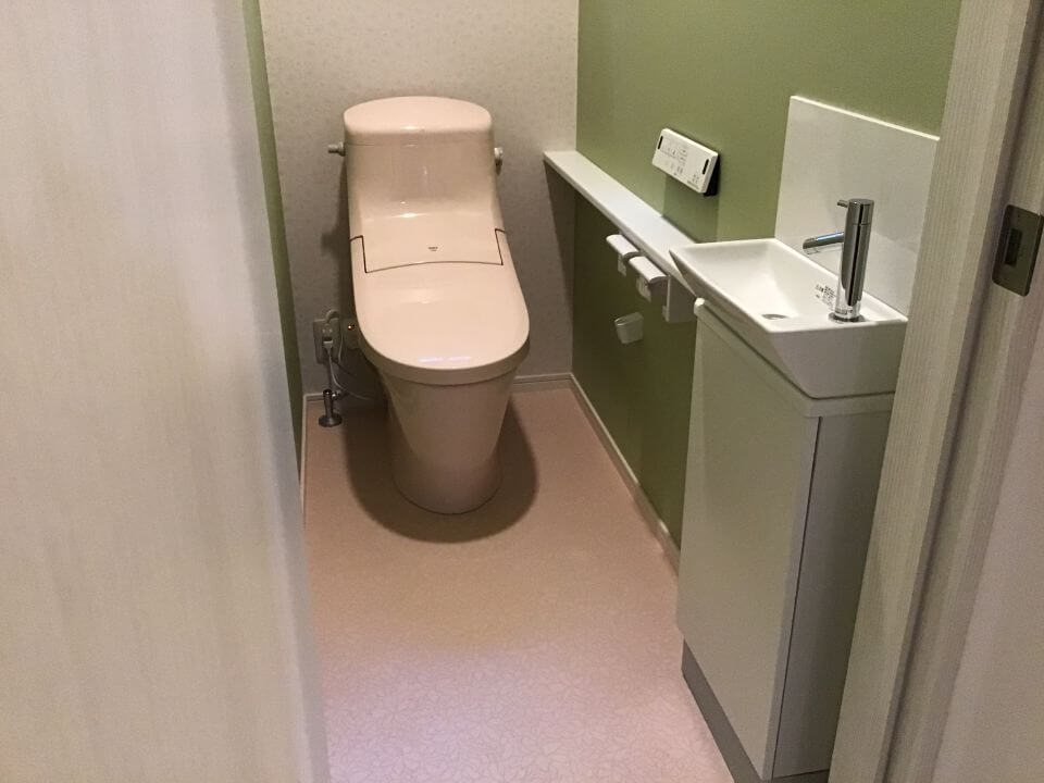 S様邸 トイレ改修工事